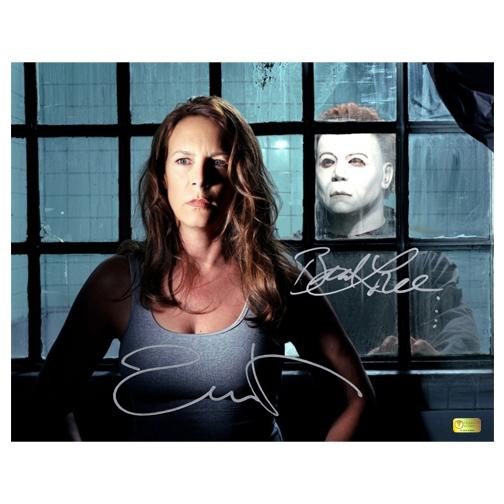 Lot Detail - Jamie Lee Curtis and Brad Loree Autographed 11×14 ...