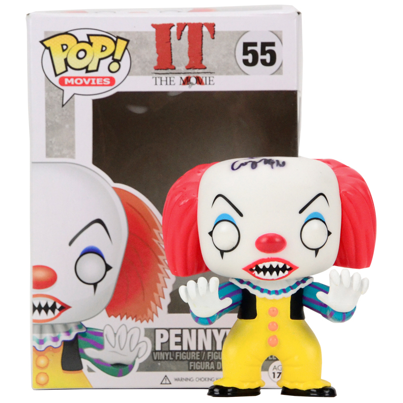 Lot Detail Tim Curry Autographed Pennywise Pop Vinyl Figure