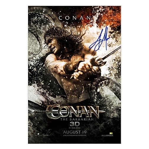 Jason Momoa Autographed 27×40 Conan The