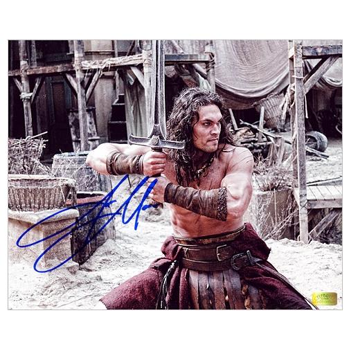 Jason Momoa Attacked: Jason Momoa Autographed Conan The Barbarian