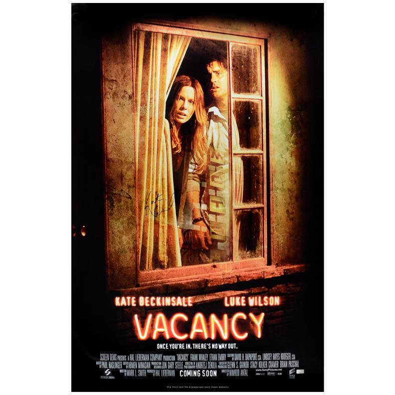 Lot Detail - Kate Beckinsale Autographed Vacancy Original ...