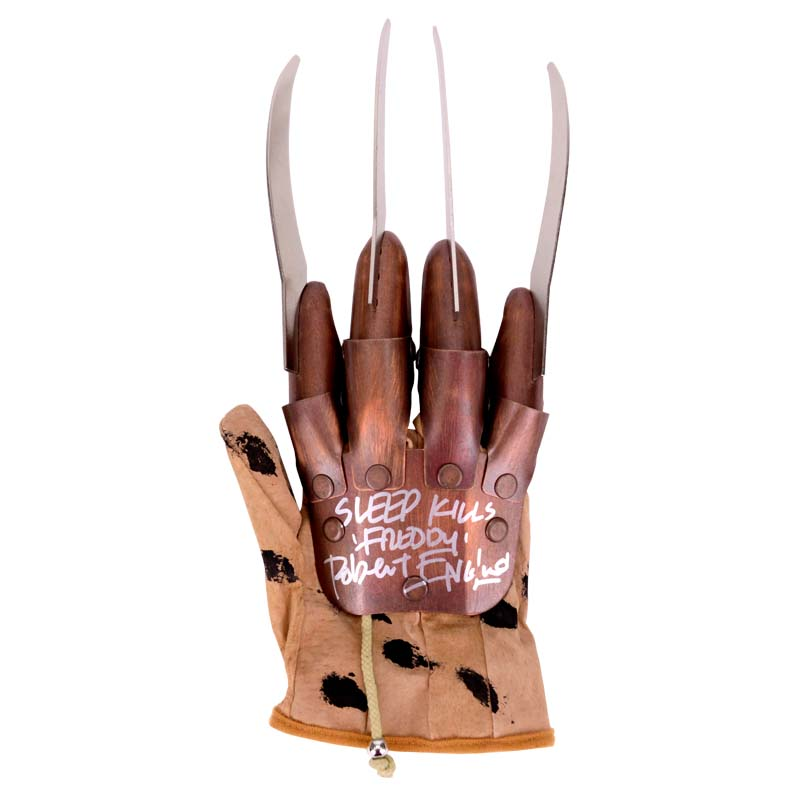 Robert Englund Autographed Freddy Krueger Glove with Sweet ...