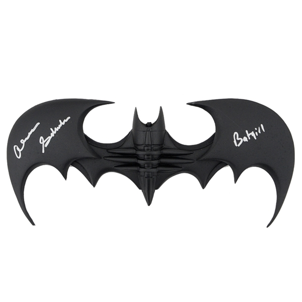 Batman and Robin Landscape Alicia Silverstone Autograph Replica Super Print