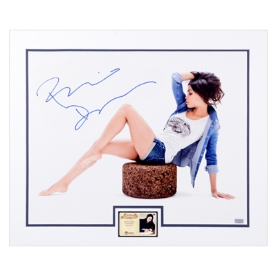 Rosario Dawson Autographed 16x20 Matted Denim Photo