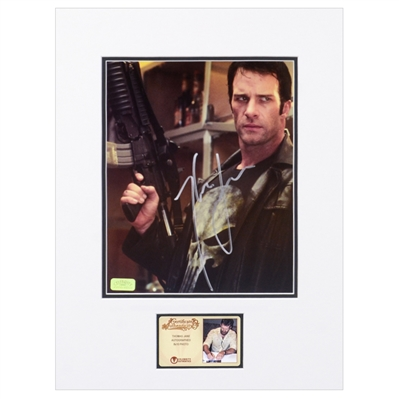 Thomas Jane Autographed 2004 The Punisher Frank Castle 8x10 Matted Photo