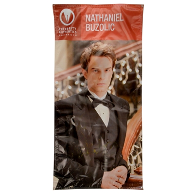 Nathaniel Buzolic Autographed Vampire Diaries Kol Show Banner