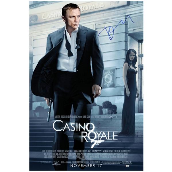 Lot Detail Daniel Craig Autographed James Bond 27 40