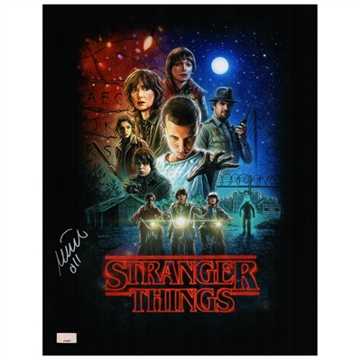 Millie Bobby Brown Autographed Stranger Things Season One 11x14 Poster