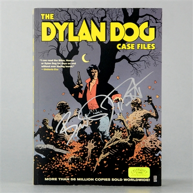 Brandon Routh Autographed The Dylan Dog Case Files Book