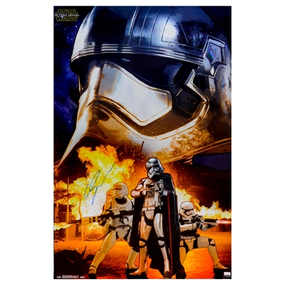 Gwendoline Christie Autographed 2015 Star Wars: The Force Awakens Captain Phasma Assault 22.5×34 Poster