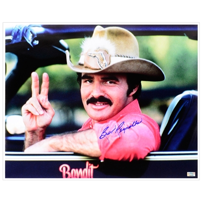 Burt Reynolds Autographed Smokey and The Bandit 16x20 Photo
