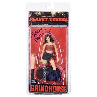 Rose McGowan Autographed Planet Terror Cherry Darling Action Figure