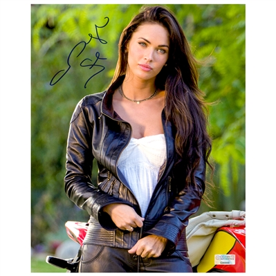 Megan Fox Autographed Transformers Revenge of the Fallen 8x10 Photo
