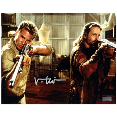 Val Kilmer Autographed 8×10 Ghost and the Darkness Action Photo