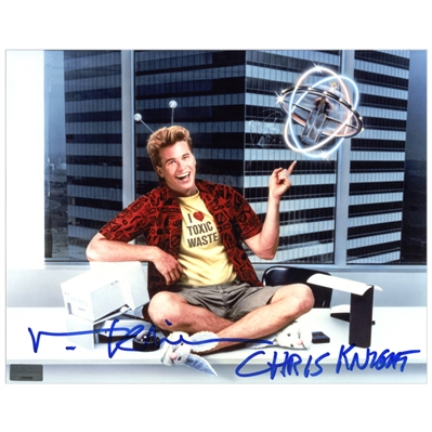 Val Kilmer Autographed Chris Knight Promo 8x10 Photo with Chris Knight Inscription