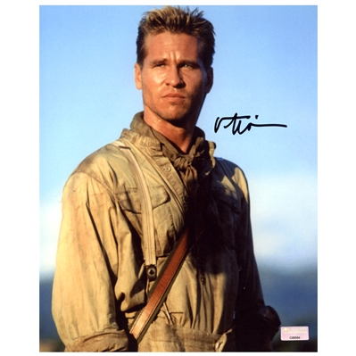 Val Kilmer Autographed 8×10 Ghost and the Darkness Scene Photo