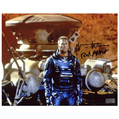 Val Kilmer Autographed Red Planet Scene 8×10 Photo with Red Planet Inscription