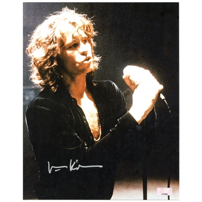 Val Kilmer Autographed 8×10 The Doors Photo