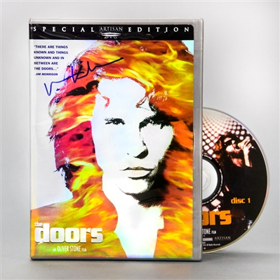 Val Kilmer Autographed The Doors Special Edition DVD