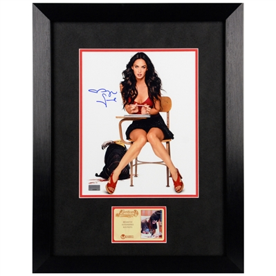 Megan Fox Autographed Jennifers Body 8x10 Framed Photo