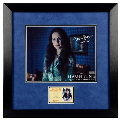 Carla Gugino Autographed The Haunting of Hill House Olivia Crain 8x10 Framed Photo