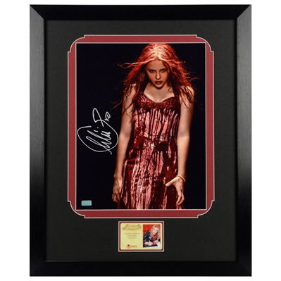 Chloe Grace Moretz Autographed Carrie 11x14 Framed Photo