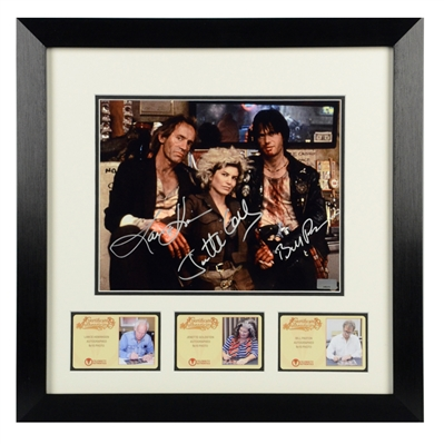 Bill Paxton, Lance Henriksen, Jenette Goldstein Autographed Near Dark 8x10 Framed Photo