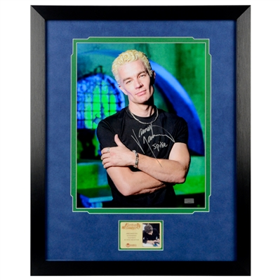 James Marsters Autographed Buffy the Vampire Slayer Spike 11x14 Framed Photo