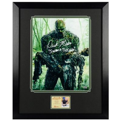Derek Mears Autographed Swamp Thing 11x14 Framed Photo