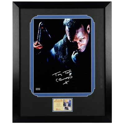 Tony Todd Autographed 1992 Candyman 11x14 Framed Photo