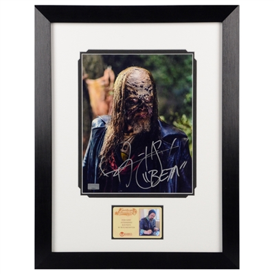 Ryan Hurst Autographed The Walking Dead Beta 8x10 Framed Photo