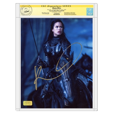 Rhona Mitra Autographed Underworld: Rise of the Lycans 8x10 Scene Photo * CGC Signature Series
