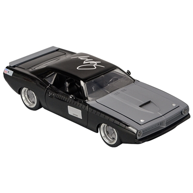Michelle Rodriguez Autographed Fast & Furious Lettys Plymouth Barracuda 1:24 Scale Die-Cast Car