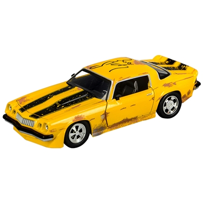 Megan Fox Autographed Transformers Bumblebee 1:24 Scale Die-Cast 1977 Chevy Camaro