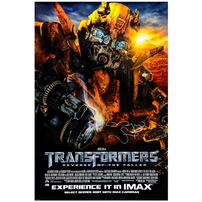 Megan Fox Autographed 2009 Transformers: Revenge Of The Fallen Original 27x40 Double-Sided Movie Poster