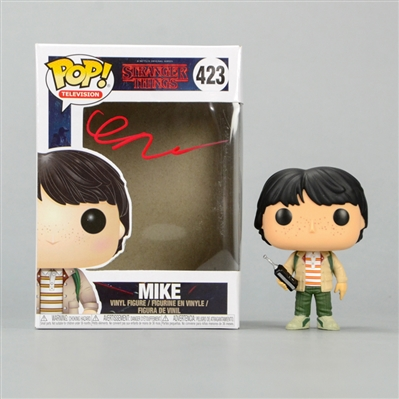Finn Wolfhard Autographed Stranger Things Mike POP Vinyl Figure #423