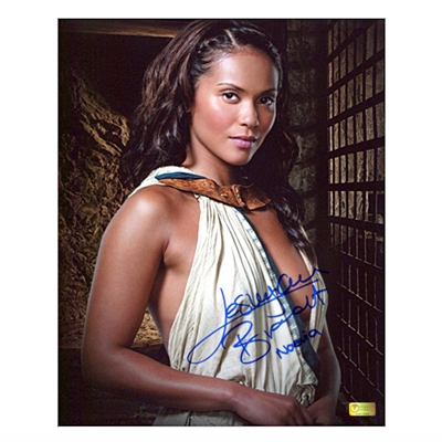 Lesley-Ann Brandt Autographed Spartacus Gods of the Arena Naevia 8x10 Photo