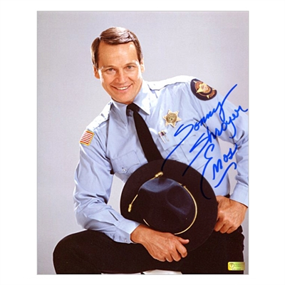 Sonny Shroyer Autographed The Dukes of Hazzard Deputy Sheriff Enos 8x10 Photo