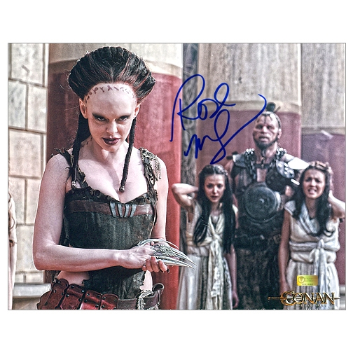 Rose McGowan Autographed Conan the Barbarian Marique 8x10 Photo
