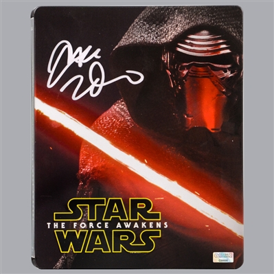 Adam Driver Autographed Star Wars: The Force Awakens DVD