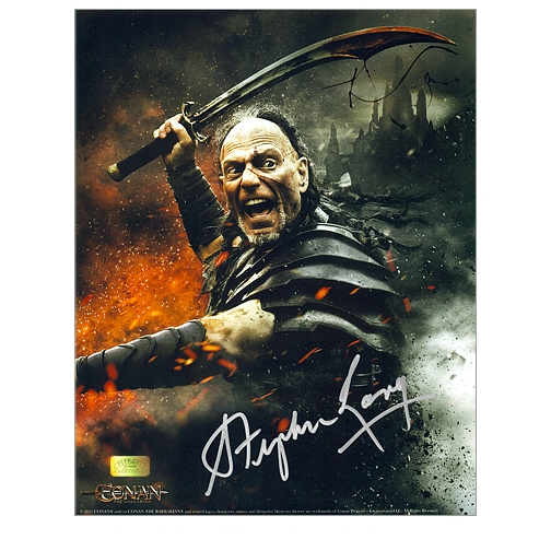 Stephen Lang Autographed 8x10 Conan the Barbarian Photo