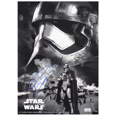 Gwendoline Christie Autographed Topps Star Wars The Force Awakens Captain Phasma 10x14 Trading Card  * LAST ONE!