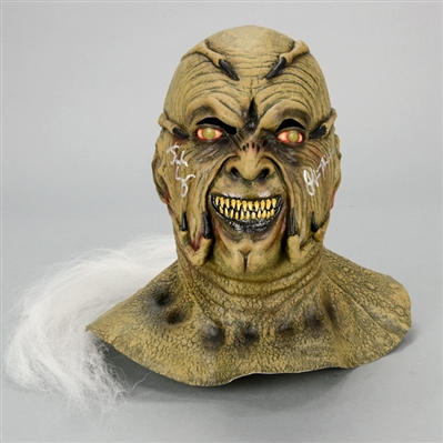 Gina Philips, Justin Long Autographed 2001 Jeepers Creepers The Creeper Mask