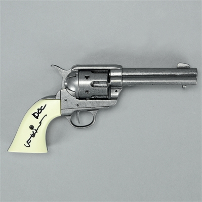 Val Kilmer Autographed Tombstone Doc Holiday Quick Draw Revolver