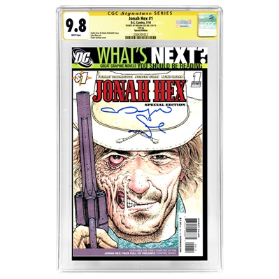 Megan Fox Autographed Jonah Hex #1 Special Edition CGC SS 9.8 Mint