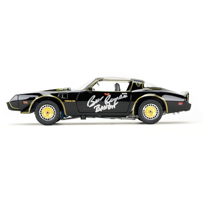Burt Reynolds Autographed Exclusive 1:18 Scale Smokey and the Bandit 2 Die-Cast Car