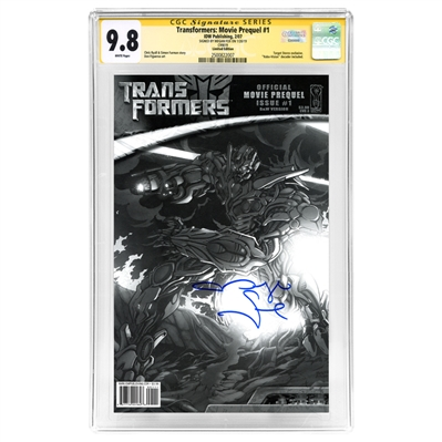 Megan Fox Autographed Transformers: Movie Official Prequel #1 * Rare Target Exclusive CGC SS 9.8