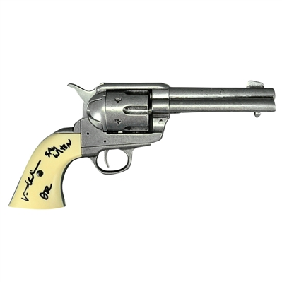 Val Kilmer Autographed Tombstone Doc Holiday Quick Draw Revolver with Say When Inscription