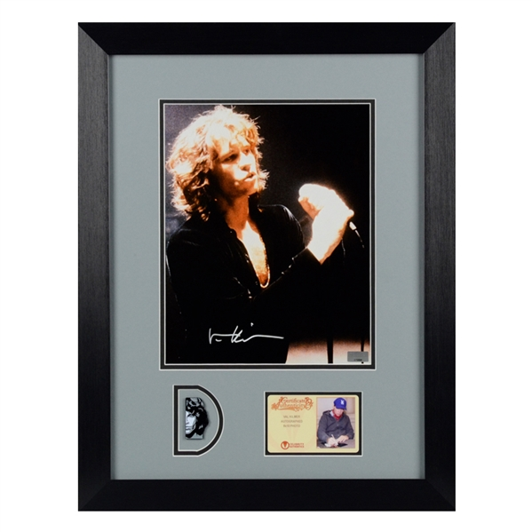 Val kilmer Autographed The Doors Jim Morrison 8x10 Photo Framed With Pin