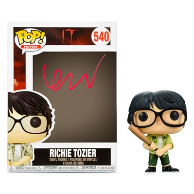 Finn Wolfhard Autographed Richie Tozier IT POP Vinyl Figure #540